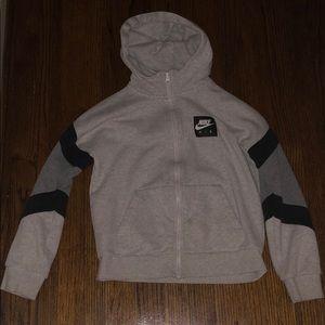 Boys Nike Air hoodie.